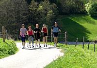 Wandern und Wellness in Bayern
